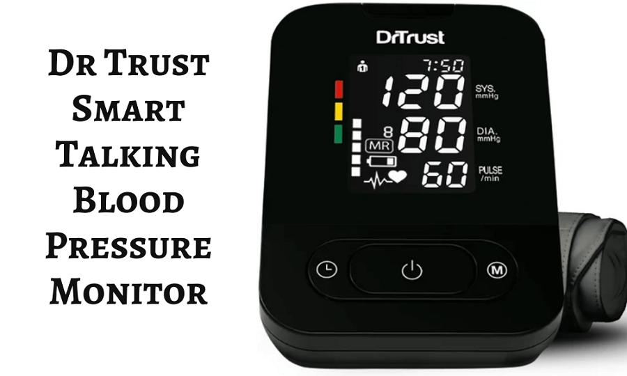 Dr trust smart talking BP monitor