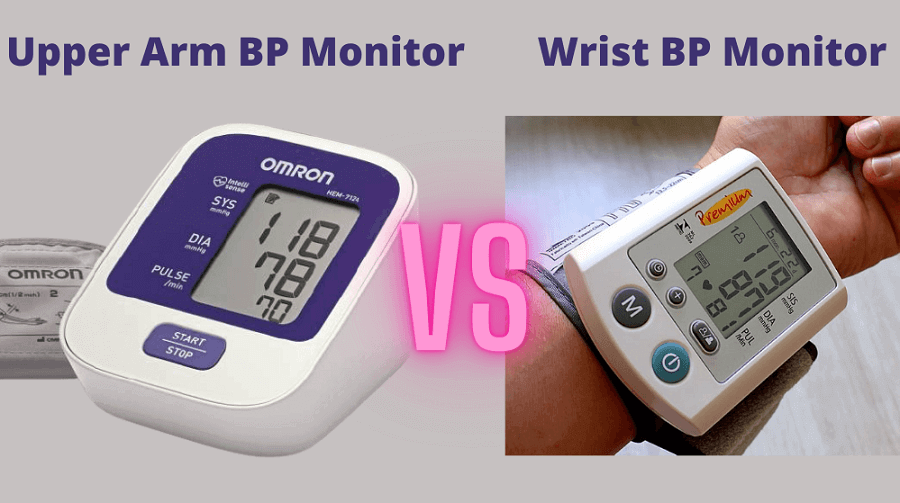 Upper arm blood pressure monitor vs wrist blood pressure monitor